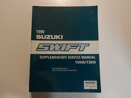 1998 Suzuki Swift 1000 1300 Supplementary Service Repair Shop Manual Factory Oem - $77.17