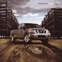 2008 Nissan TITAN sales brochure catalog US 08 PRO-4X - $6.00