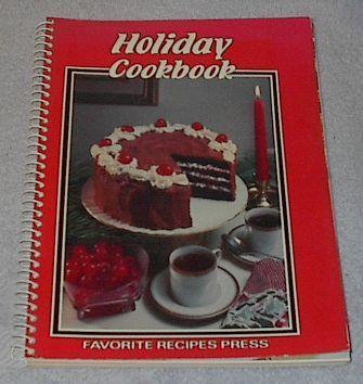 Vintage Recipe Holiday Cookbook