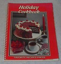 Vintage Recipe Holiday Cookbook image 1