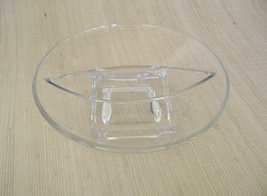 Cambridge Glass, Square Pattern, 2 Part Relish ... - $25.00