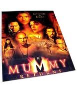 "2001 THE MUMMY RETURNS Movie 9x11.5"" Color Ad Photo Card Stock Brendan F... - $9.99"