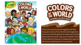 Crayola Colors Of The World Coloring And Activity Book 48 Pages - $9.89