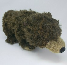 "16"" DISNEY STORE BROWN GRIZZLY BEAR NATURE DOCUMENTARY STUFFED ANIMAL PL... - $27.12"