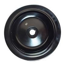 GM Saginaw Power Steering Pump Double-Groove Steel Pulley (Black) image 8