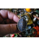 PARANORMAL COLLECTION INSPRIED Italian Renaissance Male Sang Vampire ring 9 - $500.00