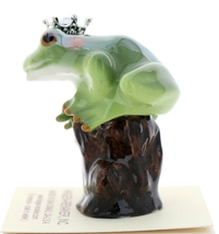 Hagen-Renaker Miniature Tree Frog Figurine Birthstone Prince 12 December Zircon image 4
