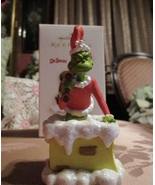HALLMARK 2006 DR SEUSS HOW THE GRINCH STOLE CHRISTMAS GRINCHY CLAUS in O... - $15.95
