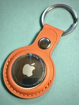 Genuine Leather Apple AirTag Keyring Holder Case Keychain, A Nice Quality Piece. - $16.63