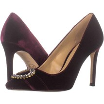 MICHAEL Michael Kors Viola Pointed Toe Pumps 522, Oxblood, 6 US - $42.23