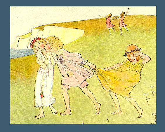 LE MAIR 1911 Antique NAUGHTY GORGY PORGY Song Print