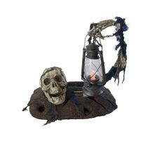 GROUND BREAKER W LANTERN 18in HALLOWEEN HAUNTED HOUSE PROP DECOR  - $34.95