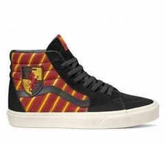 Vans X Harry Potter Gryffindor Hogwarts House Sk8-Hi Mens Womens Skate Shoes - $99.99