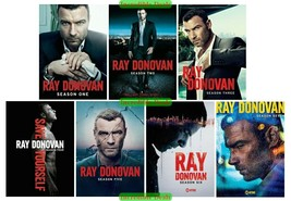 Ray Donovan The Complete Series Seasons 1 2 3 4 5 6 & 7 DVD Sealed New Set 1-7 - $69.00