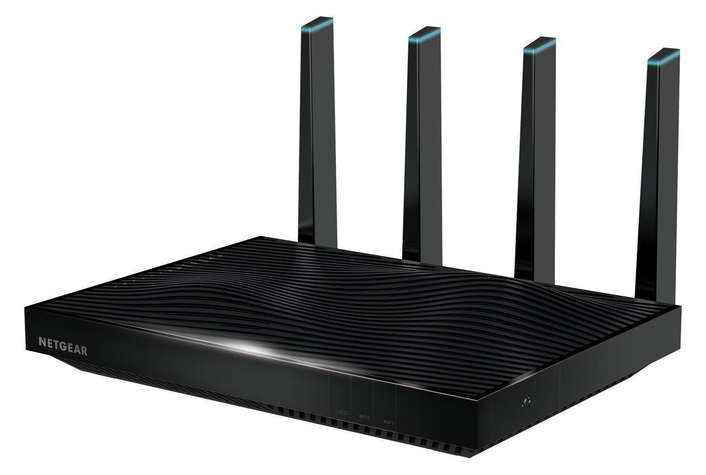 Netgear R8500 5300 Mbps 6-Port Gigabit Wireless AC Router (R8500-100NAS)
