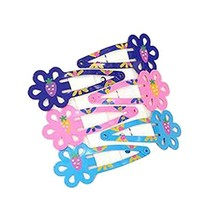 Set Of 5 Cute Hair Decorations Baby Girls Toddler Hair Clips , No.4 - $16.43