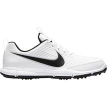 Nike Golf Explorer 2 White Black 849958-100 Mens Wide Shoes - $64.95