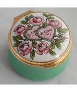Cartier Pills Box Two Hearts Je T'Aime Porcellain - Vintage - $190.00