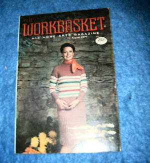 The Workbasket & Home Arts Magazine, August 1975 image 1