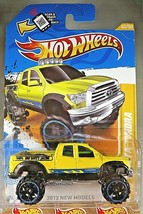 2012 Hot Wheels #40 New Models 40/50 '10 TOYOTA TUNDRA Yellow w/Black OROH6 Sp - $10.55