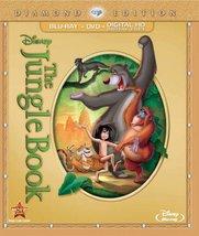 Disney's The Jungle Book, Two-Disc Diamond Edition, Blu-ray/DVD/Digital ... - $37.74