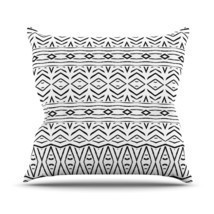 "Kess InHouse Pom Graphic Design ""Tambourine"" Outdoor Throw Pillow, 16 by... - $32.54"