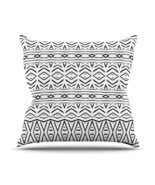 "Kess InHouse Pom Graphic Design ""Tambourine"" Outdoor Throw Pillow, 16 by... - £24.50 GBP"