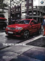 2015 BMW X4 sales brochure catalog US 15 xDrive 28i 35i - $10.00
