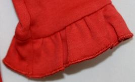 Blanks Boutique Long Sleeve Red Snap Up Ruffled Romper 12 months image 4