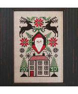 FULL KIT 2010 Santa Limited Edition cross stitch kit Prairie Schooler  - $23.50