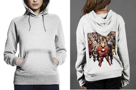 2017  Very popular Fashion Marvel Comics apparel Classic Hoodie Women White - $29.80