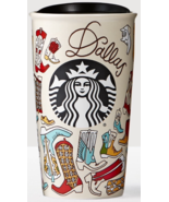 Starbucks 2016 Dallas 12-Ounce Local Collection Double Wall Ceramic Tumbler New - $37.50