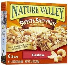 Nature Valley Sweet & Salty Nut Cashew Granola Bars 7.4 oz - $9.99