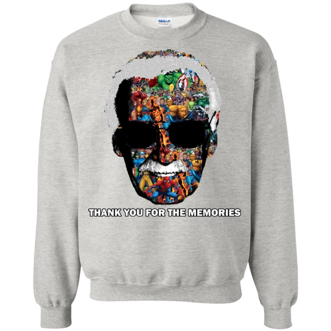 Thank You For The Memories Tee Shirt  - Inspired By Stan Lee Sweatshirt - Super