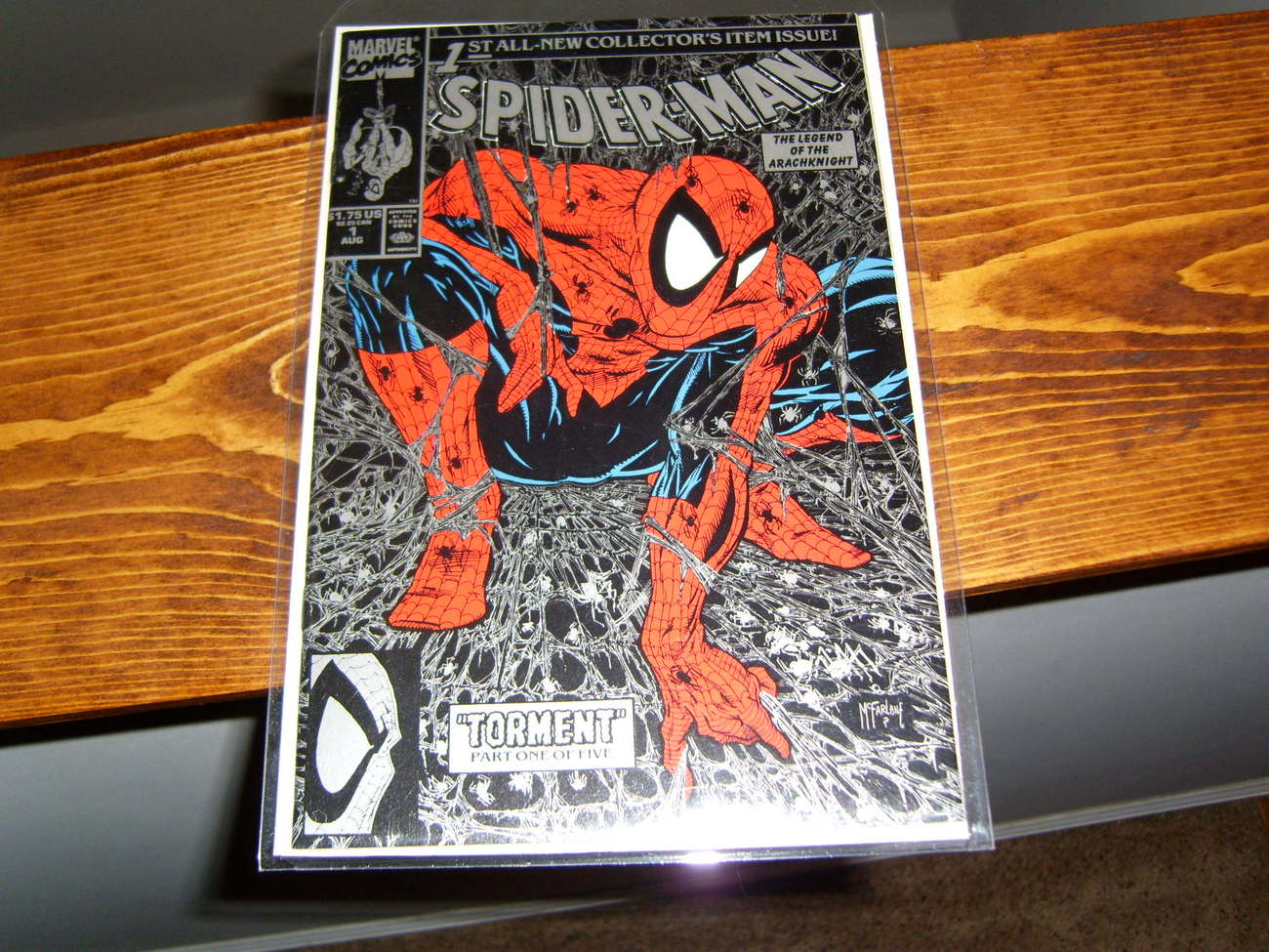 Primary image for Spiderman comic Legend of the Arachknight Torment V1 McFarlane cover?