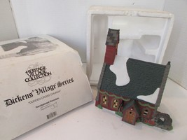 DEPT 56 58343 DUDDEN CROSS CHURCH HERITAGE VILLAGE BUILDING NO CORD - $17.14