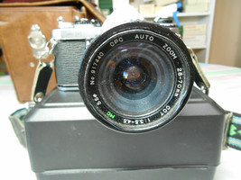 VINTAGE ABAHI PENTAX MUE 35mm CAMERA WITH ACCESSORIES & CASE - $19.95