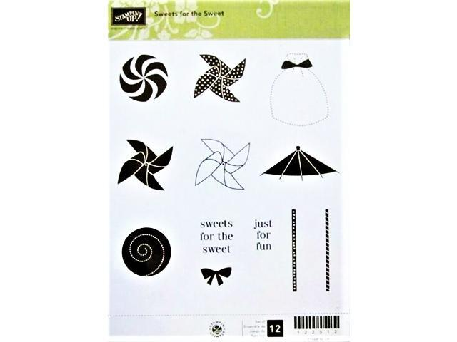 Stampin' Up! Sweets for the Sweet Rubber Cling Stamp Set #122512