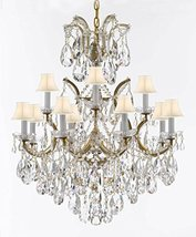 Maria Theresa Chandelier Lights Fixture Pendant Ceiling Lamp Dressed with Large, - $614.71