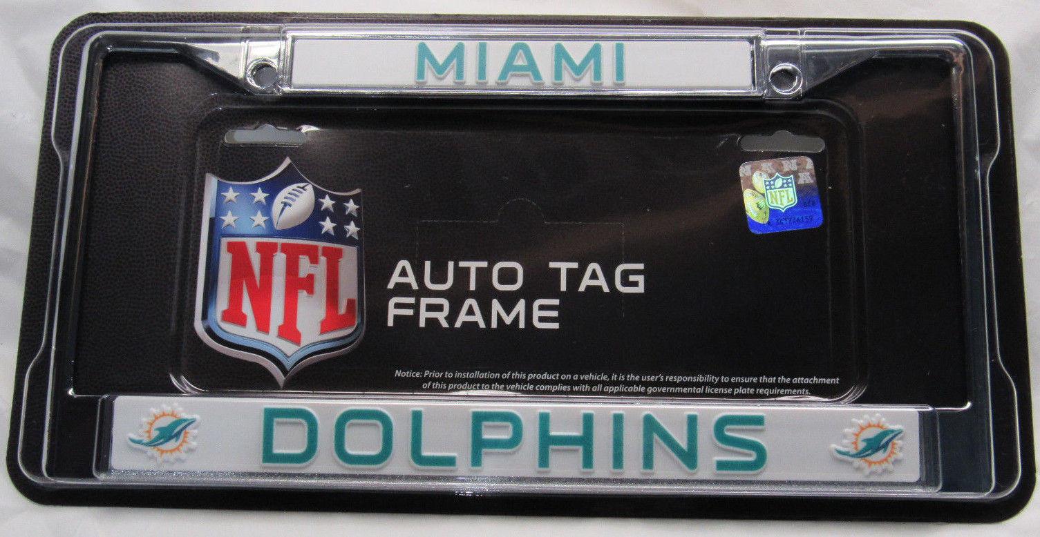 Chicago Blackhawks Letter Logo Plastic License Plate Frame RICO