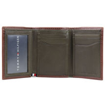 Tommy Hilfiger Men's Trifold Zipper Coin Credit Card ID Wallet 31TL110021 image 4