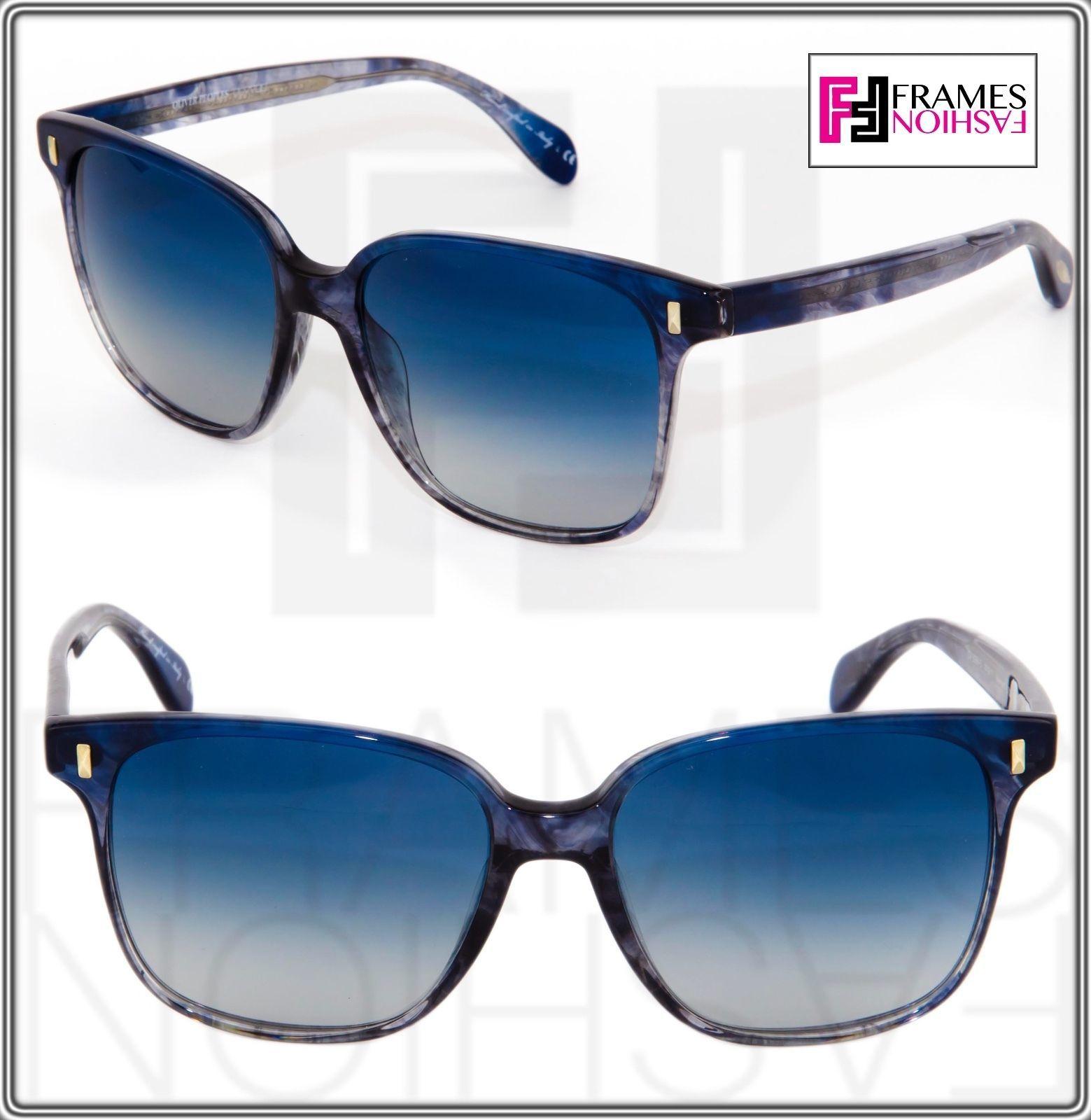 OLIVER PEOPLES MARMOT Square OV5266S Faded Sea Pacific Blue Sunglasses 5266