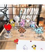 Kpop Bangtan Boys BTS BT21 Acrylic Desk Stand Board Decor Cartoon COOKY ... - $4.99