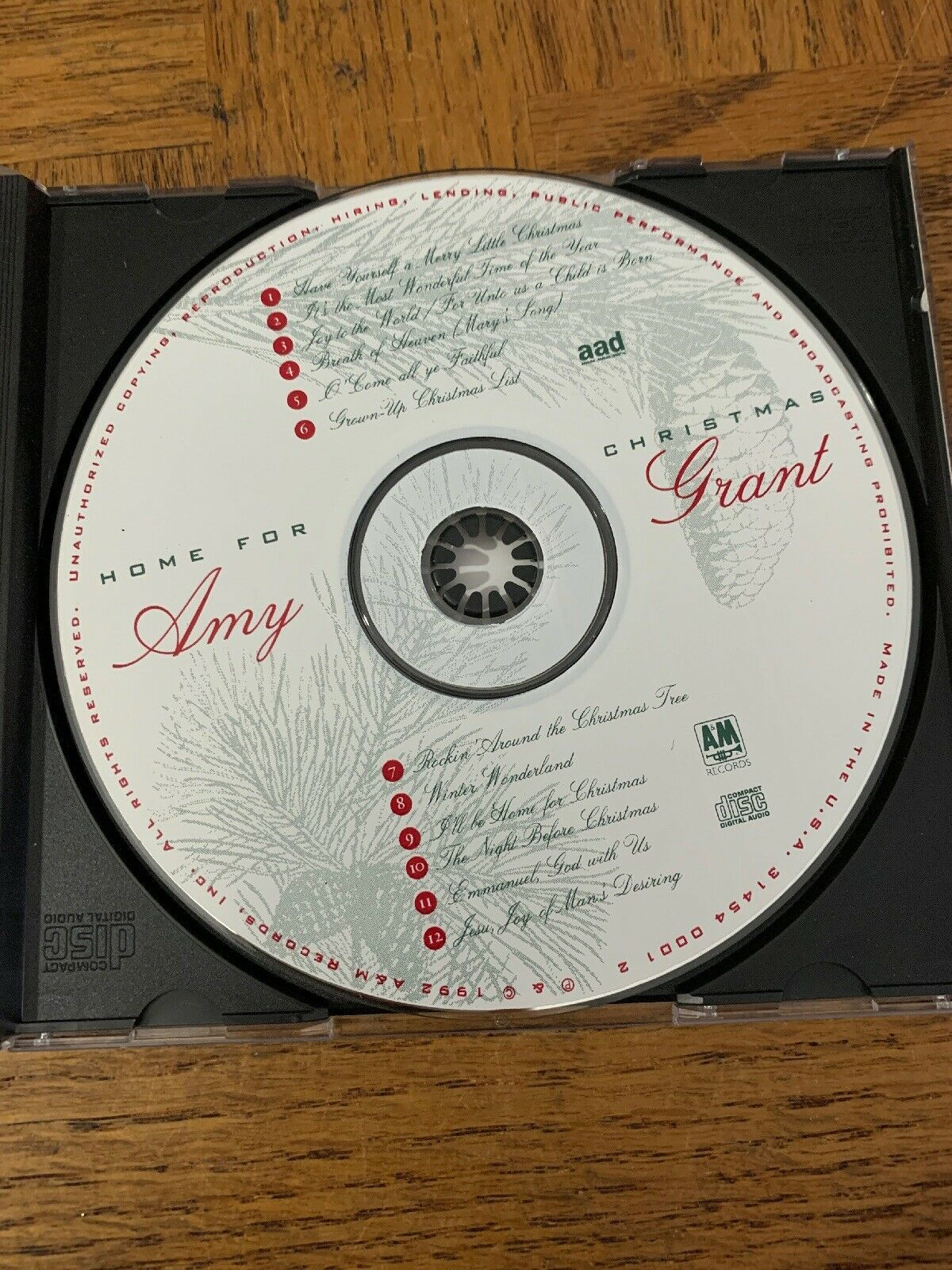 Amy Grant Home For Christmas CD - CDs