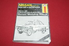 NISSAN/DATSUN PICK-UPS/PATHFINDER MANUAL Book 80'-88'  - $10.00