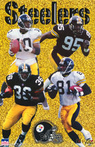 POSTER:NFL FOOTBALL: PITTSBURGH STEELERS - 1997 COLLAGE #1583 LC29 D - $26.00