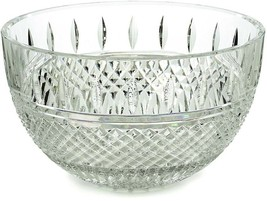 "Waterford Irish Lace 10"" Crystal Bowl Clear #149575 New in Box - $359.90"