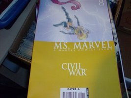 MS. MARVEL 8 [Paperback] [Jan 01, 2006] MARVEL - $2.80