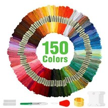 MAKEASY 173 PCS Embroidery Floss 150 Skeins (Embroideryfloss-150color) - $17.51