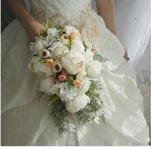 Silk Peony Bouquet - $79.99+
